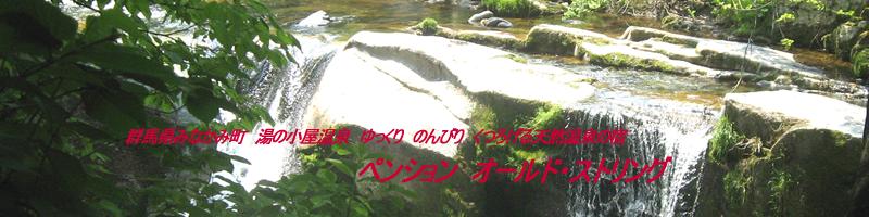 群馬県みなかみ町 湯の小屋温泉 ゆっくり のんびり くつろげる 天然温泉の宿 ペンション オールド・ストリング