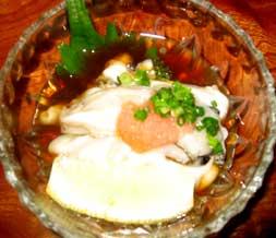 牡蠣の酢の物