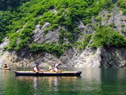 体験カヌー、乗ったことないからちょっとだけ体験してみたい!!