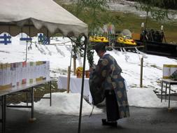 宝台樹スキー場安全祈願祭
