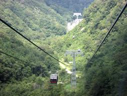 谷川岳 ロープウェイ